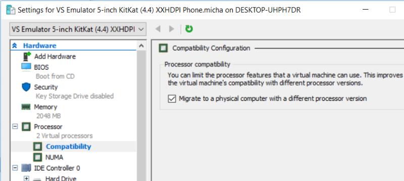 emulator-processor-compat